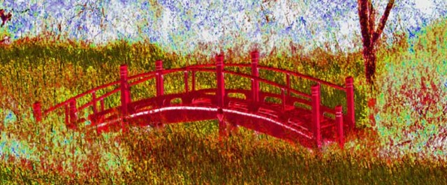 The Red Bridge 2 by Christopher Woods
