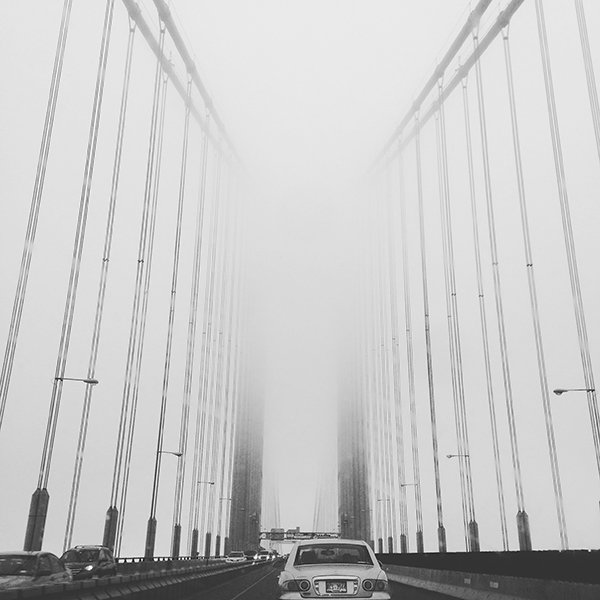 Cinelle Barnes Foggy Bridge