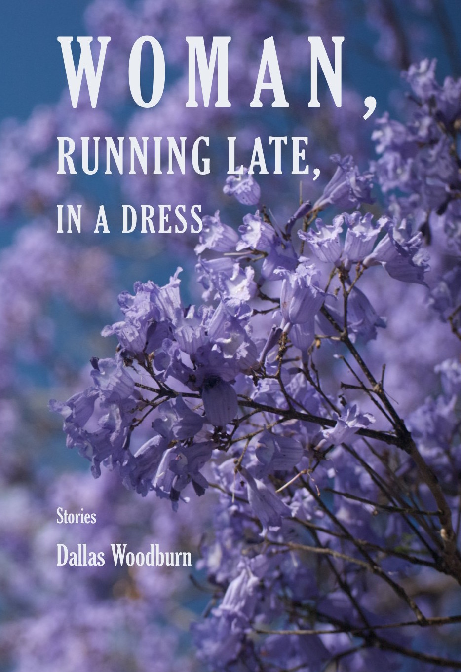 Dallas Woodburn Woman Running Late in a Dress